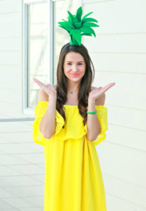 diy pineapple costume - Save Money On Halloween Costumes