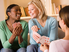 20090413 women cards 1 - Why dont you host a girls only poker night?