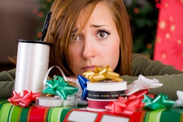 holiday stress woman1 - Dealing with Holiday Stress for Women!