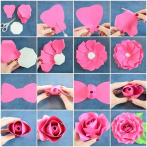 paperroses - Want to make Some Easy Paper Roses? Great fun free gift idea for a friend or family...