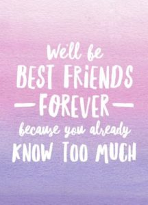 u5r22hb3d5 - Do you Have a Best Friend Forever?