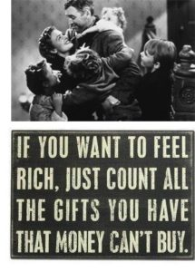 If you want to feel rich