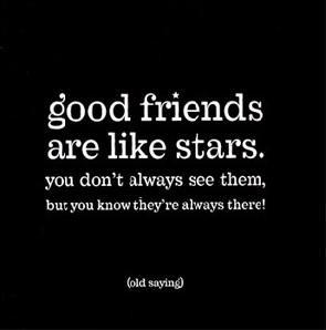 stars - Good Friends Are Like Stars