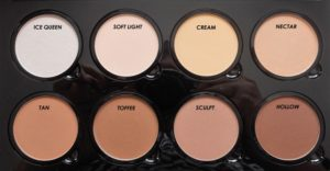 NYX Highlight and Contour Pro Palette shades - Top 5 Contouring Makeup Products