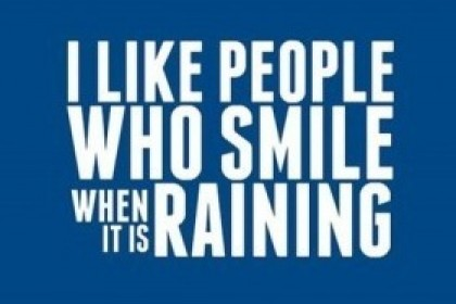Smile when It Rains